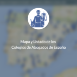 Colegios de Abogados de España, aqui tienes un mapa y un listado con todos los colegios de abogados de españa con su direcciom, telefono, web y correo electronico
