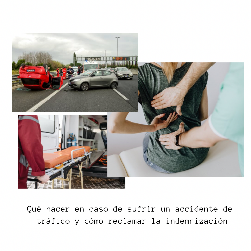 accidente de tráfico e indemnizaciones